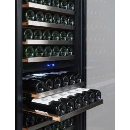 Cave à vin TR3V181 3 zones 210 bouteilles mise en situation