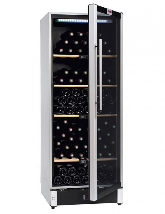 VIP150 wine cellar multi-temperature 160 bottles