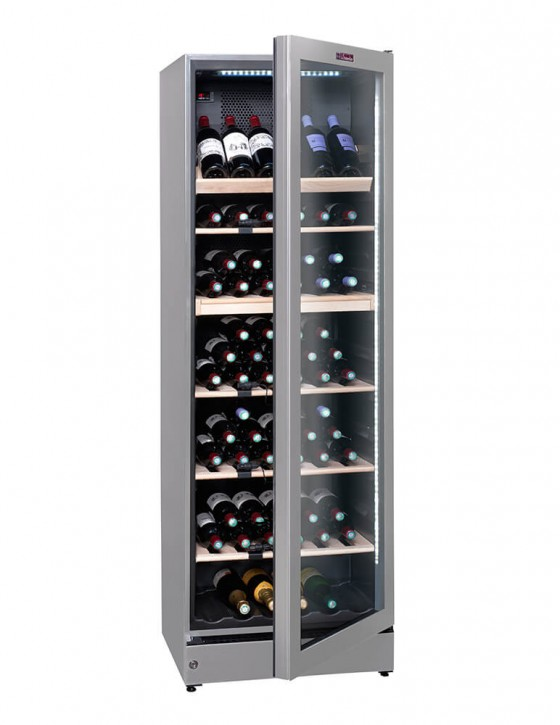 Vinoteca multizona VIP195G, 195 botellas