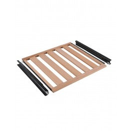 CLAVIP06 Wooden sliding shelf