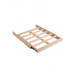 CLATRAD10 Wooden sliding shelf