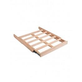 Clayette CLATRAD10 coulissante en bois