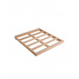 Clayette CLATRAD08 fixe en bois