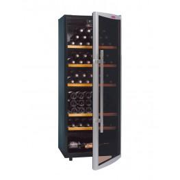 Cave à vin CVD131V 120 bouteilles entrouverte La Sommeliere