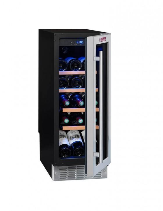 Vinoteca empotrable bajo encimera CVDE21, 21 botellas la sommeliere