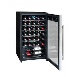 Cave à vin LS34A 34 bouteilles pleine porte ouverte la sommeliere