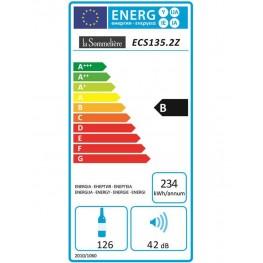 Cave à vin ECS135.2Z 2 zones la sommelière energie
