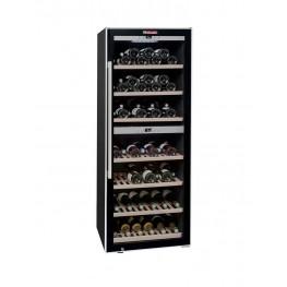 cave vin double zone pour 126 bouteilles ecs135 2z la sommeli re. Black Bedroom Furniture Sets. Home Design Ideas