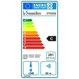 Cave à vin CTV252 classe energie C