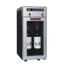 Distributeur vin 2 bouteilles DVV22 la sommeliere