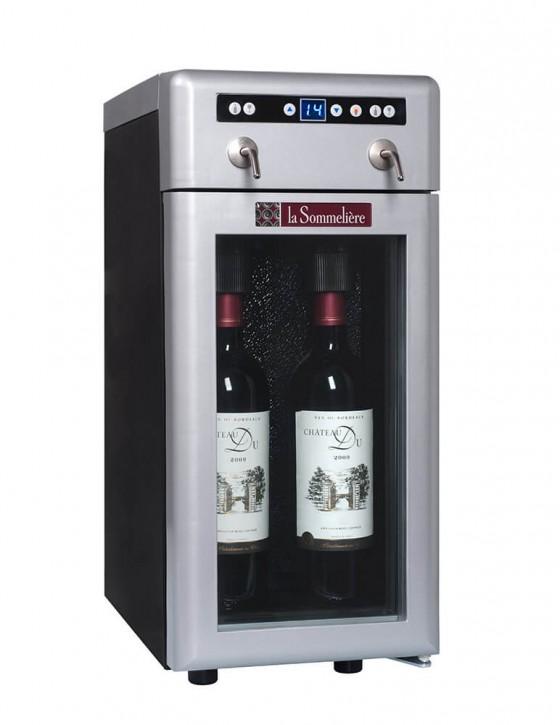 El dispensador de vino por copa DVV22 le sommeliere