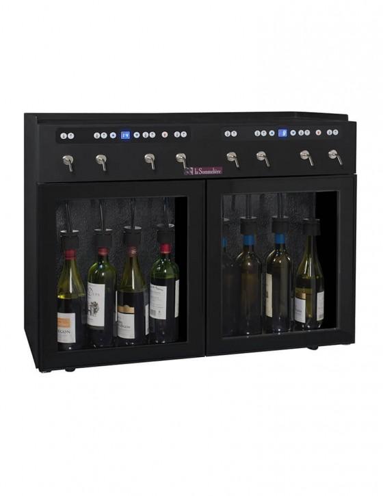 DVV8 Double-zone wine dispenser la sommeliere