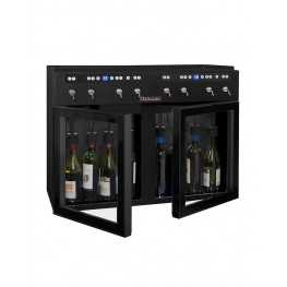 DVV8 Double-zone wine dispenser la sommeliere