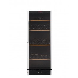 VIP150 wine cellar multi-temperature 160 bottles la sommeliere
