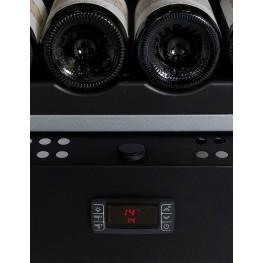 Cave à vin VIP180 multi-zones 180 bouteilles La Sommelière zoom panneau