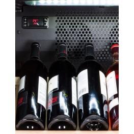 VIP195G multi-zone ageing wine cellar zoom bottles