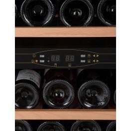 Cave à vin CVDE46-2 double zone 46 bouteilles zoom panneau