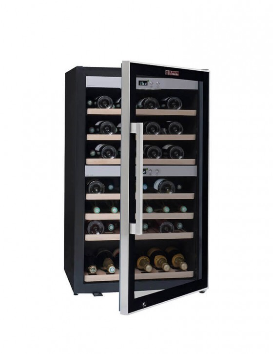 cave vin de service multi zones ecs70 2z 66 bouteilles la sommeli re. Black Bedroom Furniture Sets. Home Design Ideas