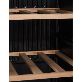 LS36A wine cellar zoom shelves