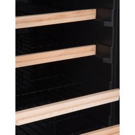 LS38A wine cellar zoom shelves la sommeliere