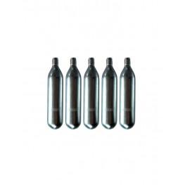 Confezione da 5 cartucce di azoto per distributore di vino La Sommelière, cod. CA01