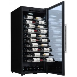 PF110 wine cellar 107 bottles la sommeliere full sliding shelves