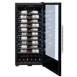 Cave à vin PF110 107 bouteilles la sommeliere face pleine ouverte