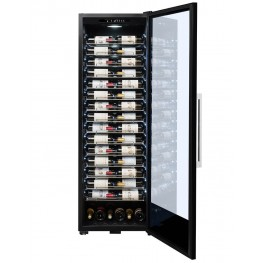 PF160 wine cellar 152 bottles la sommeliere door open
