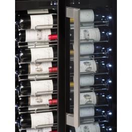 PF160DZ wine cellar double zone 152 bottles la sommeliere zoom handle