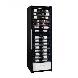 PF160DZ wine cellar double zone 152 bottles la sommeliere full cellar door closed