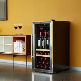 Weinservierschrank LS38A Vakuumpumpe 38 Flaschen sommeliere