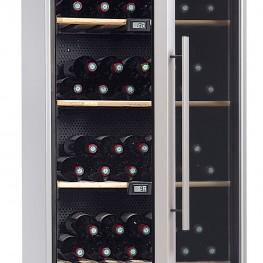 Cave à vin VIP180 multi-zones 180 bouteilles La Sommelière zoom poignée