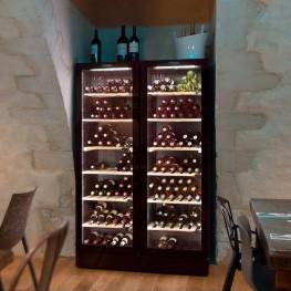 Weinschrank VIP195N Mehreren Temperaturzonen, 195 Flaschen