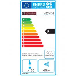 Cave à vin MZ2V135 double zone énergie
