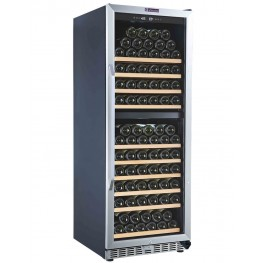 MZ2V135 wine cellar double zone 135 bottles