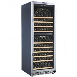 Vinoteca MZ2V135, 2 zonas 135 botellas la sommeliere