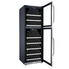 MZ2V165 wine cellar double zone 165 bottles la sommeliere