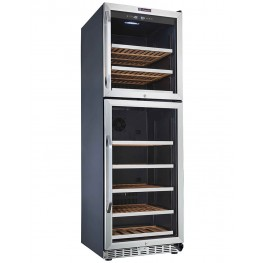 MZ2V165 wine cellar double zone 165 bottles