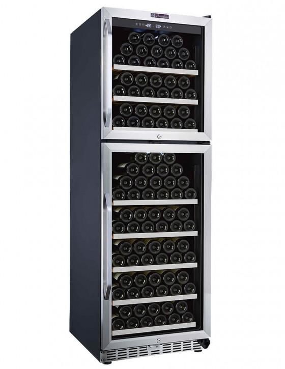 Vinoteca MZ2V165 2 zonas 165 botellas la sommeliere