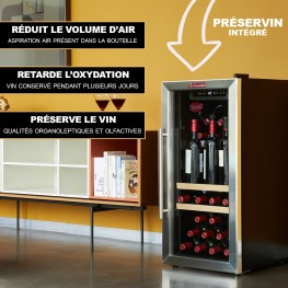 LS38A wine cellar 38 bottles system preserving wine