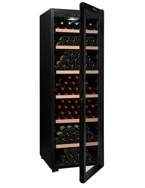 CTV248 Wine cellar 248 bottles la sommeliere full opened