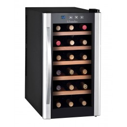 LS18KB Serving temperature cellar with 18 bottles