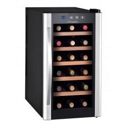 Vinoteca de chambreado LS18KB, 18 botellas la sommeliere