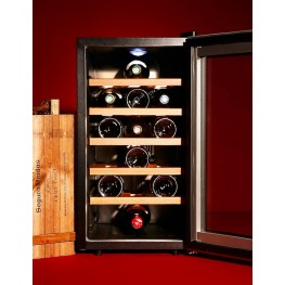 thermoelectric chamber cellar LS18KB 18 bottles la sommeliere
