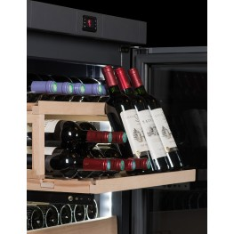 Cave à vin VIP330V sommelière zoom clayette de présentation
