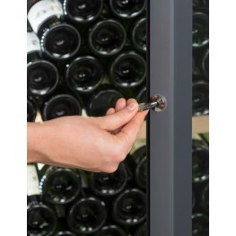 VIP330V multi-zone wine cellar zoom lock