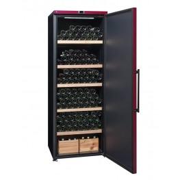 Cave à vin VIP315P mono-zone 325 bouteilles la sommelière ouverte pleine