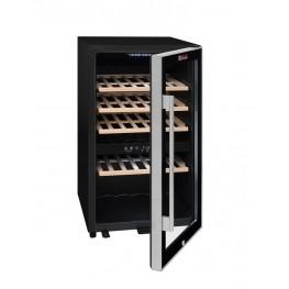 ECS50.2Z Zweizonen Weinschrank 49 Flaschen