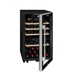 ECS50.2Z Double-zone wine cellar 49-bottles capacity