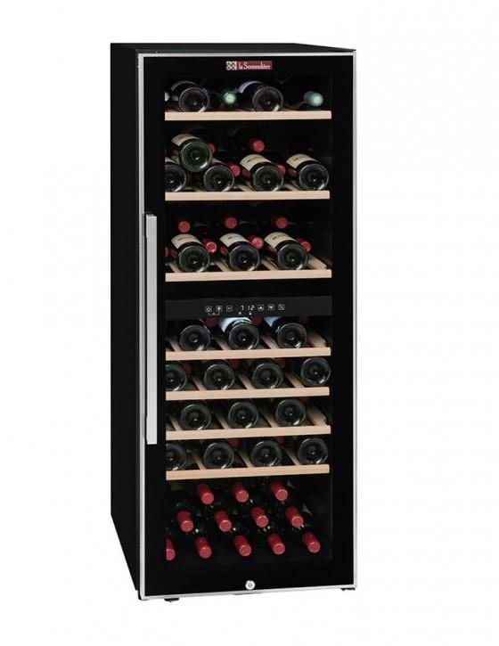 Cave à vin ECS80.2Z, double zone 79 bouteilles La Sommelière (pleine fermée)